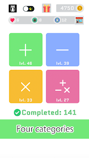 QMQ - Quick Maths Quiz for PC-Windows 7,8,10 and Mac apk screenshot 1