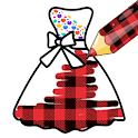 Pattern Coloring Game For Dresses icon