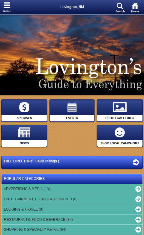 Lovington, New Mexico- screenshot