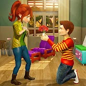 Virtual Neighbor Happy Family: Love Story Games Android APK Download Free By Toucan Games 3D