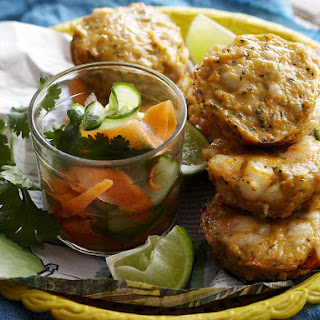 Baked Thai Fish Cakes.