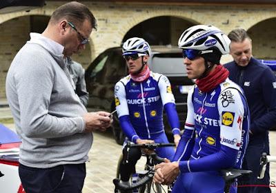 Wilfried Peeters zag Richeze en Gaviria te dicht bij de finish vallen