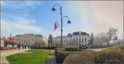 Photo: Turda - Piata 1 Decembrie 1918, Nr.29 - BCR si Primaria  - 2018.04.04