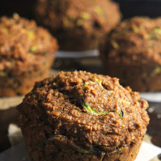 Zucchini Bread Bran Muffins