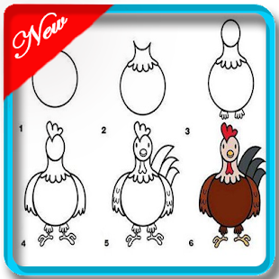 Learn to Draw : Animal Step By Step for beginner - náhled