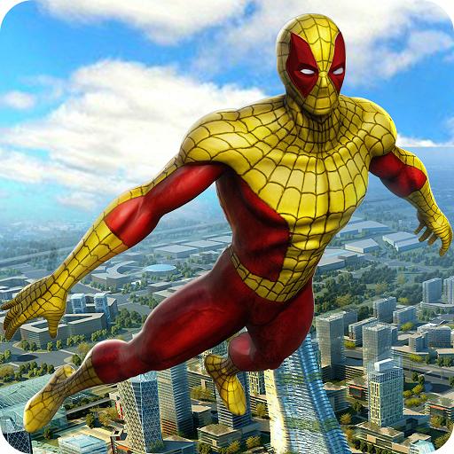 Revenge of Flying Hero Spider
