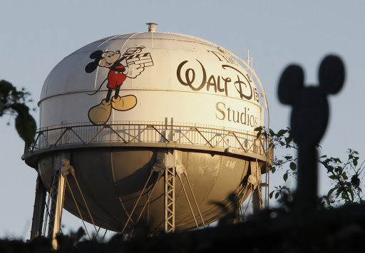 The water tower at The Walt Disney Co. The company has re-released classic animation film The Lion King in 3D. File photo.