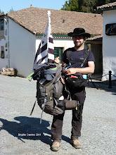 Photo: Jorge español qui est venu visiter la Bretagne