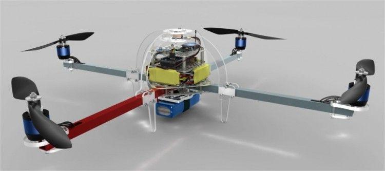 máy bay không người lái làm từ Arduino