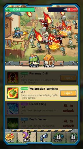 Zombies Battle-Plants Hunter screenshot 3