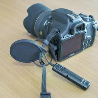 カメラレンズキャップ用ホルダー Φ58mm、Φ62mm用