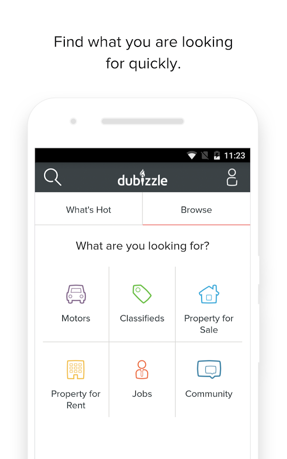 dubizzle- screenshot