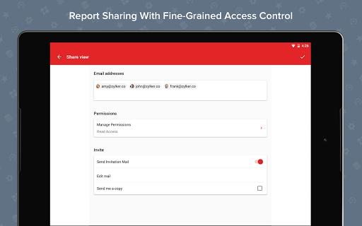 Zoho Analytics – Mobile BI Dashboards screenshot 10