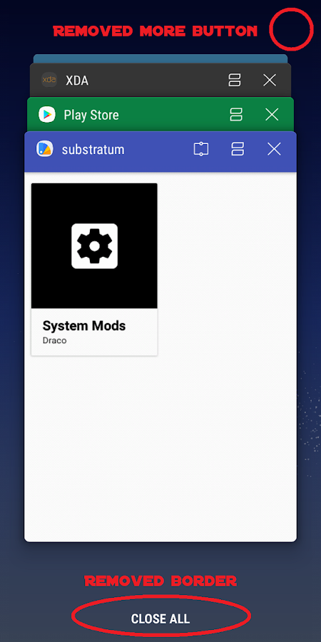 [Substratum] Samsung System Mods- screenshot