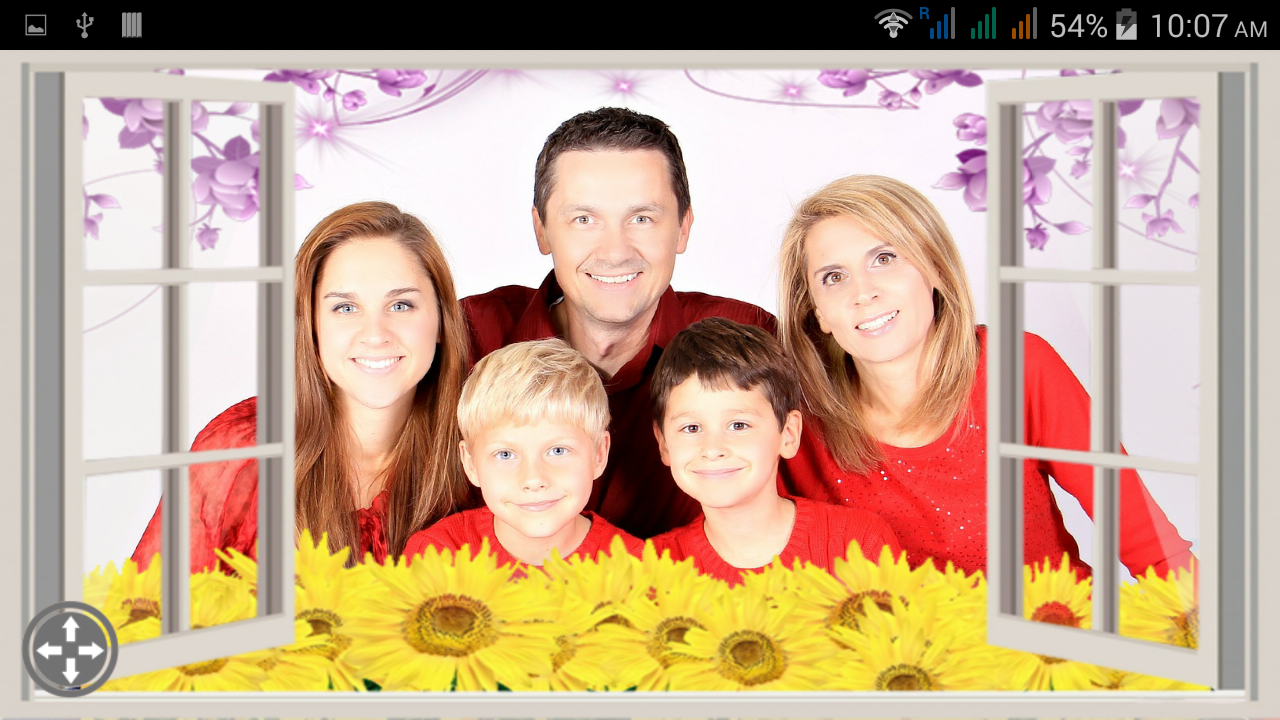family photo frames screenshot