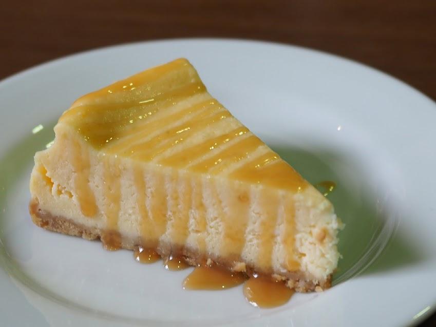 シエナコーヒーのチーズケーキ