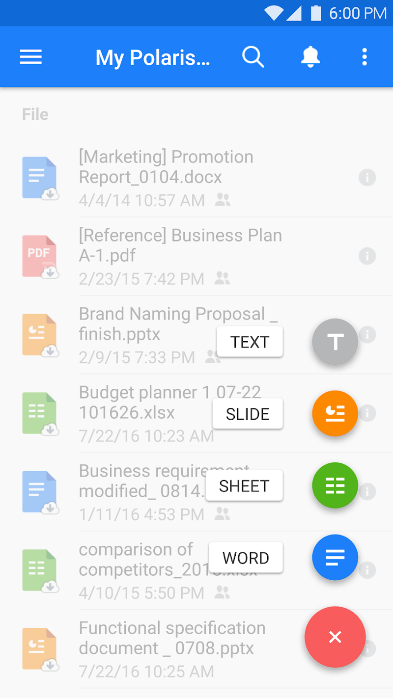 Polaris Office - Word, Docs, Sheets, Slide, PDF Screenshot 0