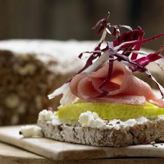 Prosciutto and Cream Cheese Sandwiches