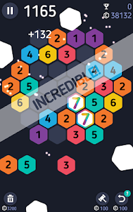 Make7! Hexa Puzzle- screenshot thumbnail