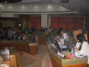 Photo: from L to R: Paranjoy Guha Sr. Journalist, Ashok Rao, NCOA and Rekha Jain ,IIM Ahmedbad