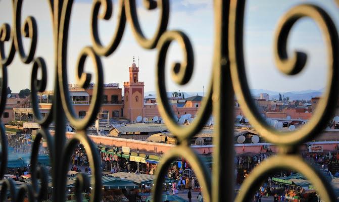 Tramonto a Marrakech di ManuelGoWest