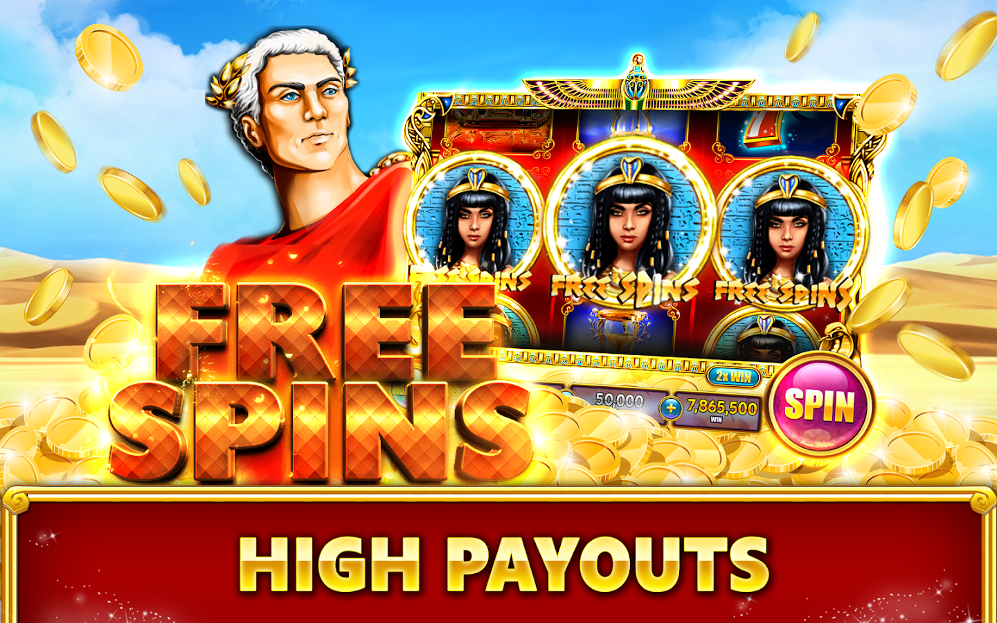 casino slots queen of the nile