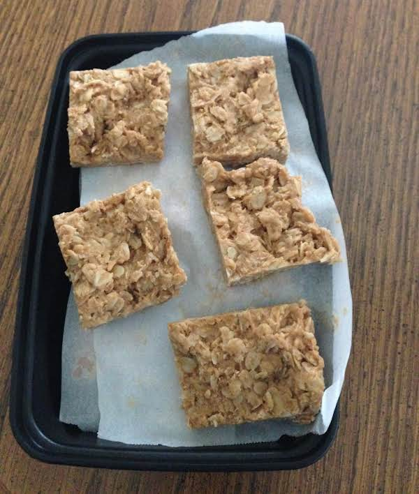 Nut Butter Oat Squares Recipe