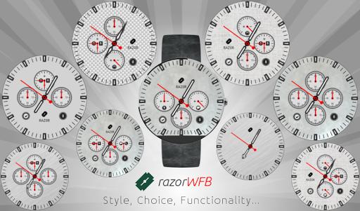 razorWFB Wear Watch Face