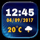 最高のデジタル時計ウィジェット icon