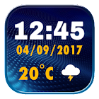 Widget Melhor Relógio Digital icon