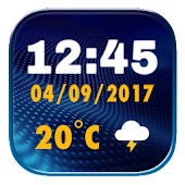 Best Digital Clock Widget Icon