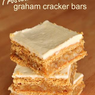 Frosted Graham Cracker Bars