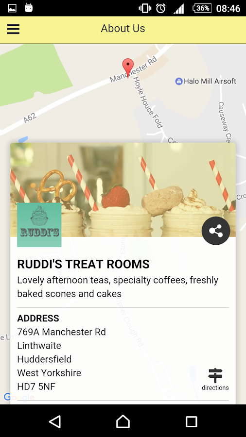 Ruddis Treat Rooms- screenshot