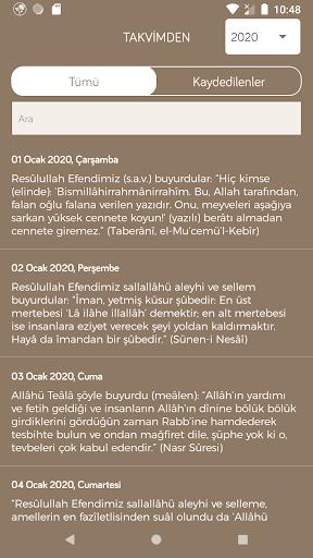 Fazilet Calendar 2020 screenshot 5