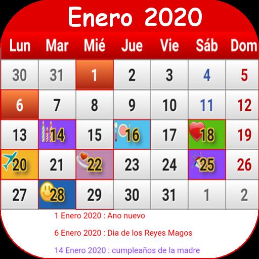 Calendario 2019 Y 2020 Con Festivos Para Colombia.Colombia Calendario 2019 Apps En Google Play