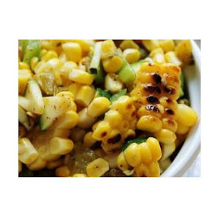 Just Julie's BBQ Grilled Corn Salsa