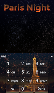 Paris Night Animated Keyboard + Live Wallpaper for PC-Windows 7,8,10 and Mac apk screenshot 5