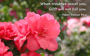 Photo: Happy Mother's Day!  Image: When troubles assail you, GOD will not fail you. ~ Helen Steiner Rice  God Bless Mothers  God's Provision 19 And my God will supply every need of yours according to his riches in glory in Christ Jesus. Philippians 4:19 ESV  Philippians 4 ESV; http://www.biblegateway.com/passage/?search=Philippians+4&version=ESV  Audio: Philippians 4 ESV; http://www.biblegateway.com/audio/mclean/esv/Phil.4  Happy Mother's Day!!!