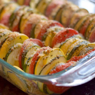 Roasted Ratatouille with an Italian Flair.