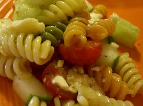 Quick And Easy Greek Pasta