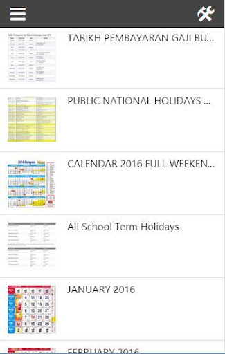 Calendar 2016 Malaysia Lunar