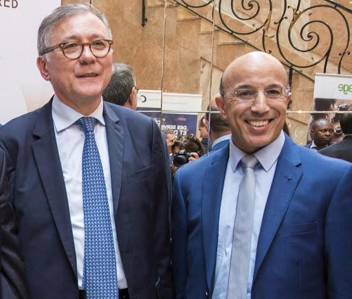 Khadiri et Denis Lesprit President de la cncc