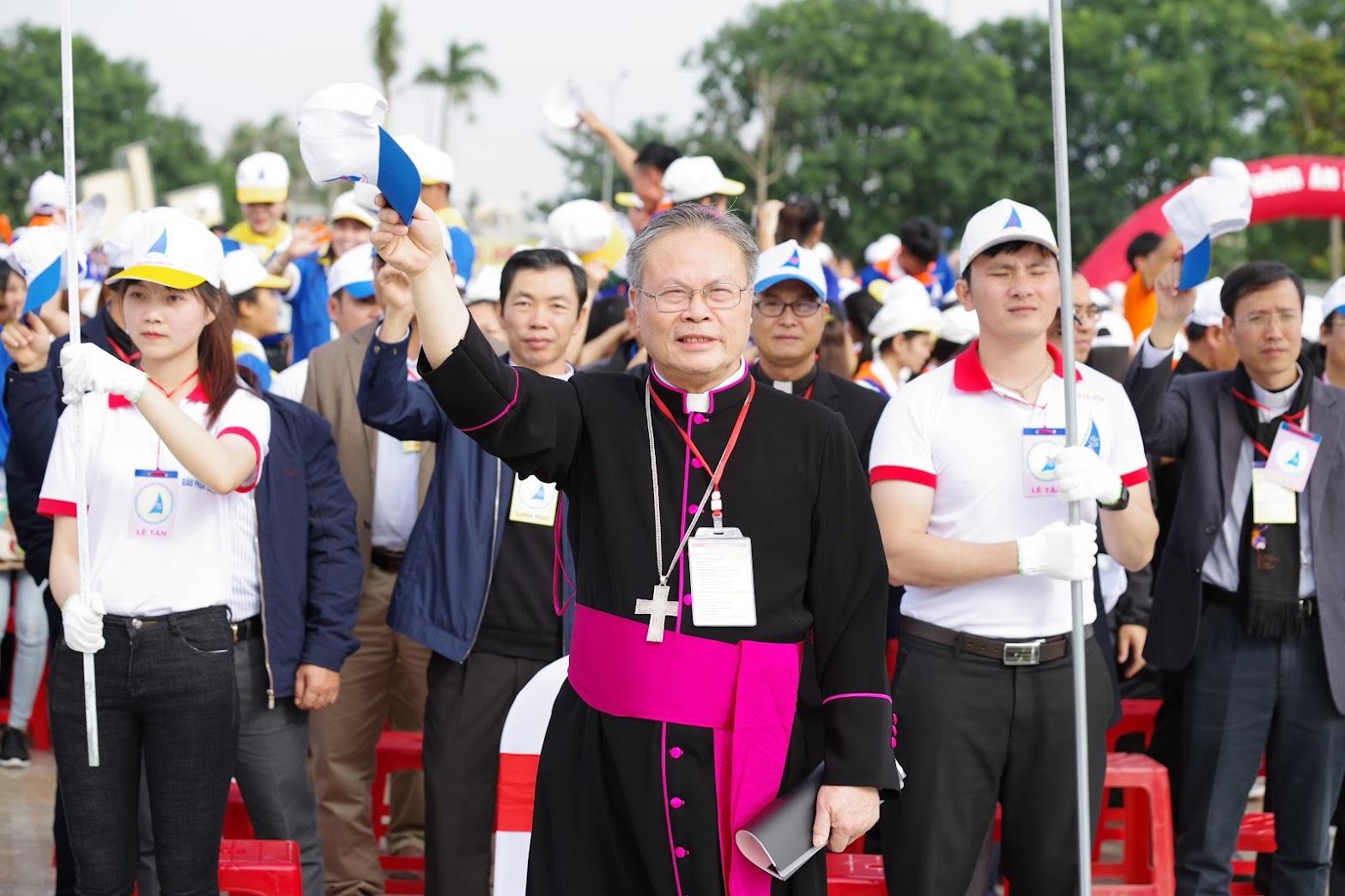 Những hình ảnh đẹp về lễ khai mạc Đại Hội Giới Trẻ giáo tỉnh Hà Nội lần thứ XV tại Thanh Hóa - Ảnh minh hoạ 29