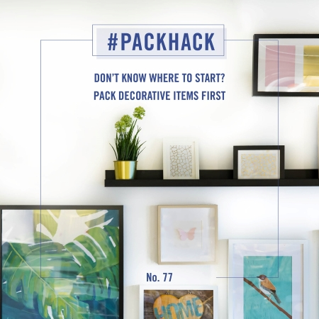 #packhack no. 77 - pack decorative items first