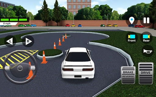 City Car Driving & Parking School Test Simulator u0635u0648u0631 2