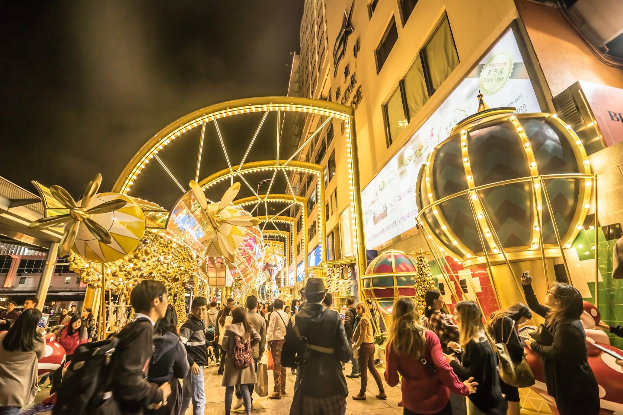 香港 尖沙咀 夜景