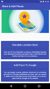 Share GPS & Add Place in Maps - náhled