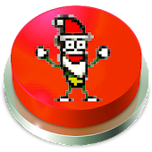 Santa Claus Banana Jelly Button
