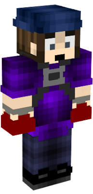 I edited this skin , the roginal creator is named SilverfreddySL