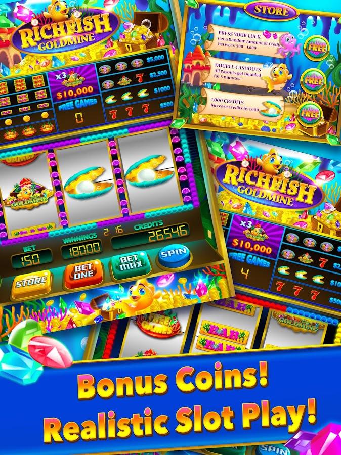 Rich fish gold mine las vegas slot slots big win for Fish slot game